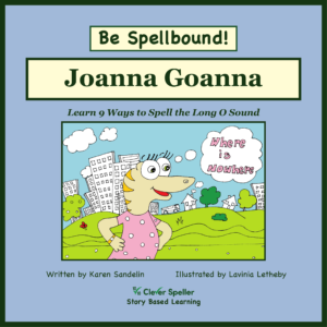 Learn to Spell Long O, Phonics Picture Book