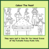 Dance of the Fancy Pants Ants Colouring In