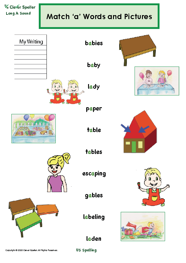 Long A Vowel Sound Matching Words and Pictures_Page_08