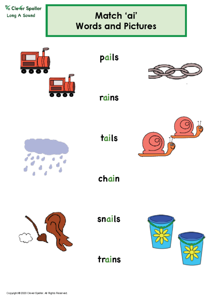 Long A Vowel Sound Matching Words and Pictures_Page_11