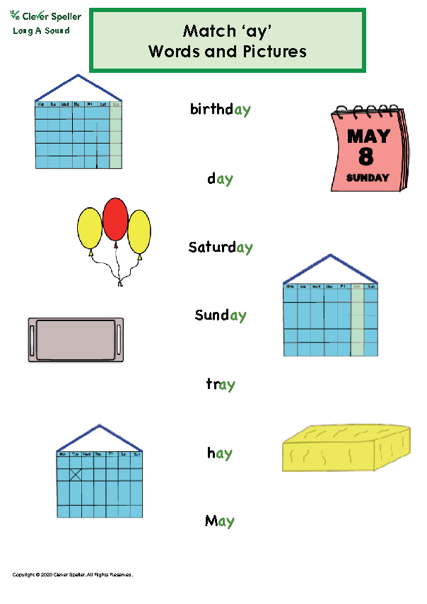 Long A Vowel Sound Matching Words and Pictures_Page_12