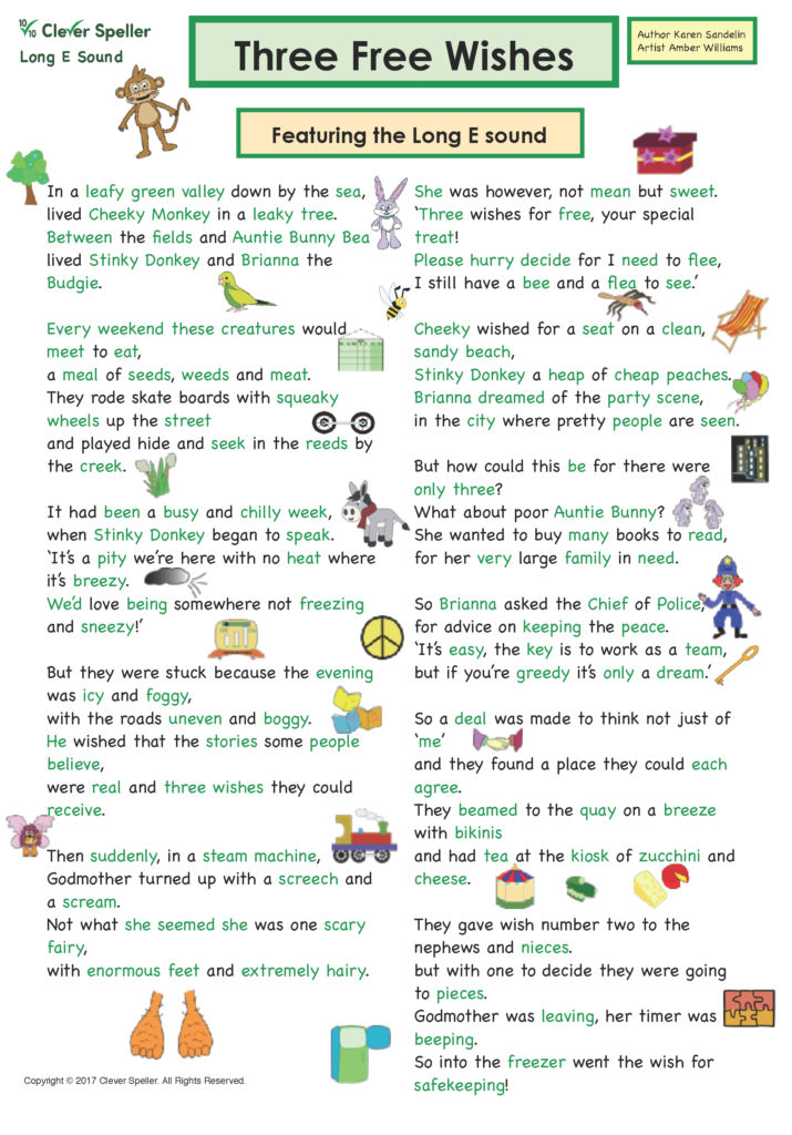 Long E Vowel Sound Matching Words and Pictures_Page_03