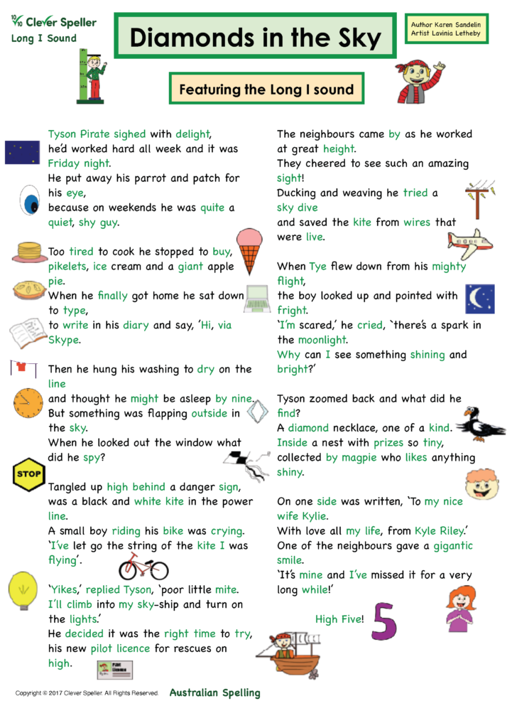 Long I Vowel Sound Matching Words and Pictures_Page_03