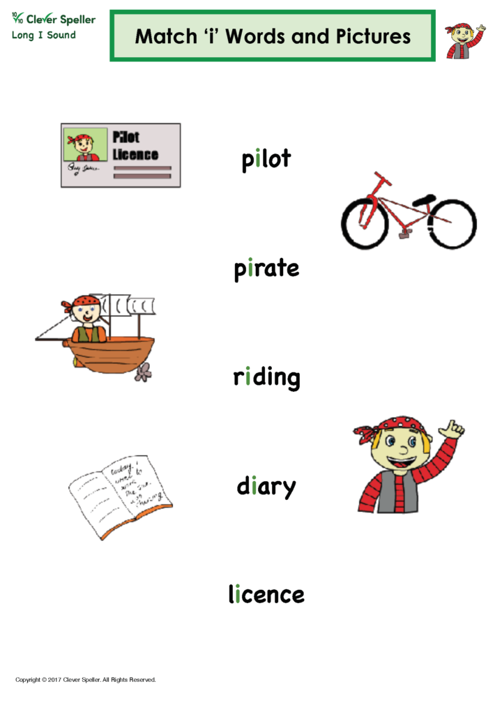 Long I Vowel Sound Matching Words and Pictures_Page_09