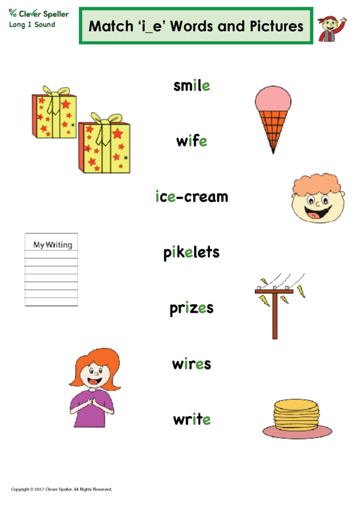 Long I Vowel Sound Matching Words and Pictures_Page_11