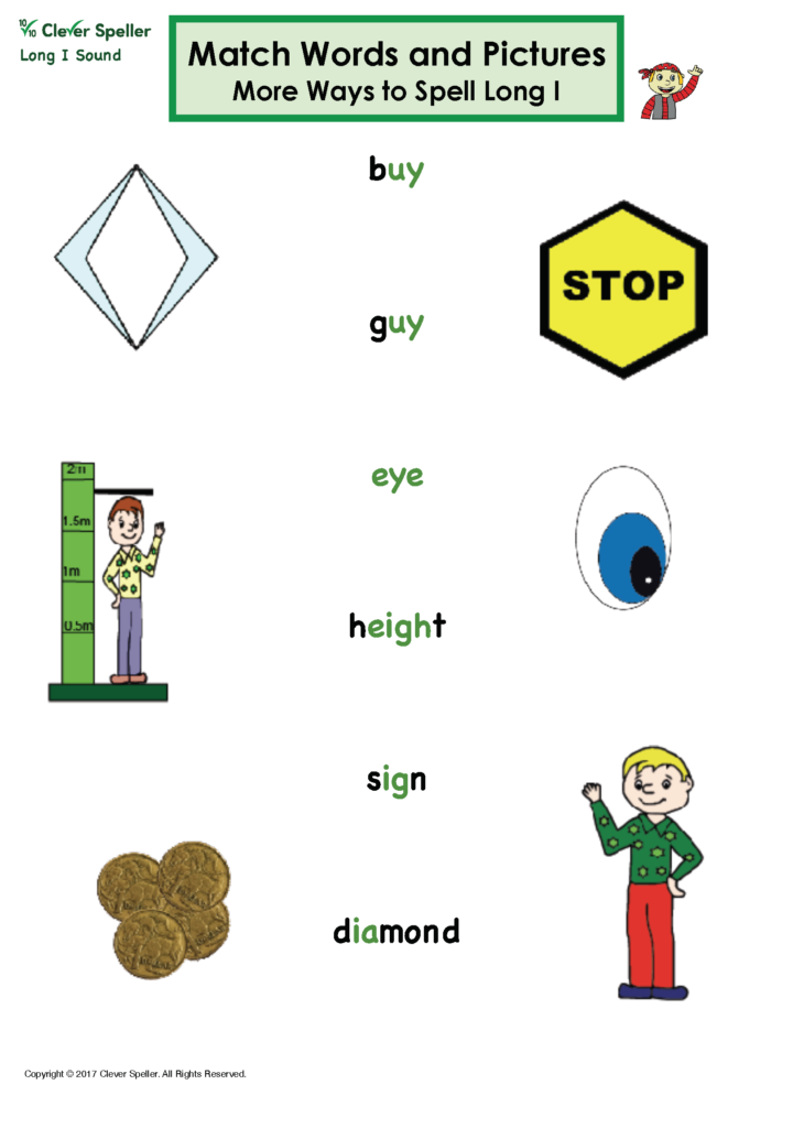 Long I Vowel Sound Matching Words and Pictures_Page_13