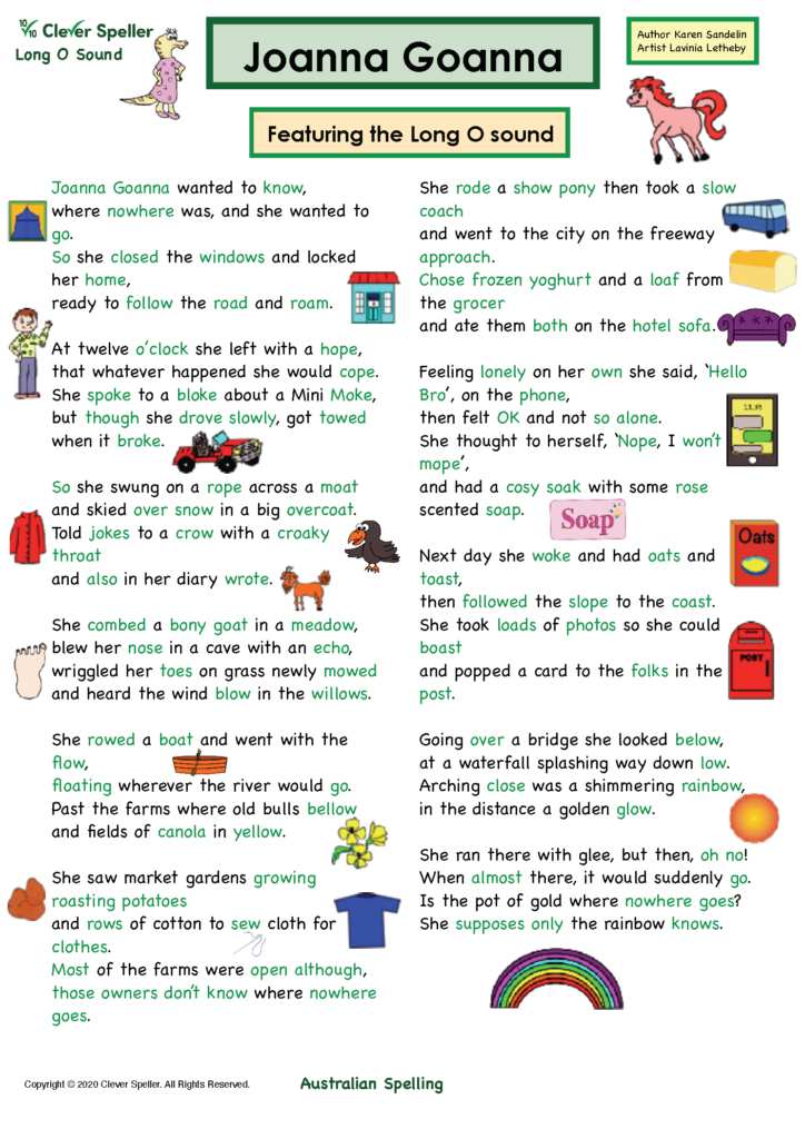 Long O Vowel Sound Matching Words and Pictures_Page_03