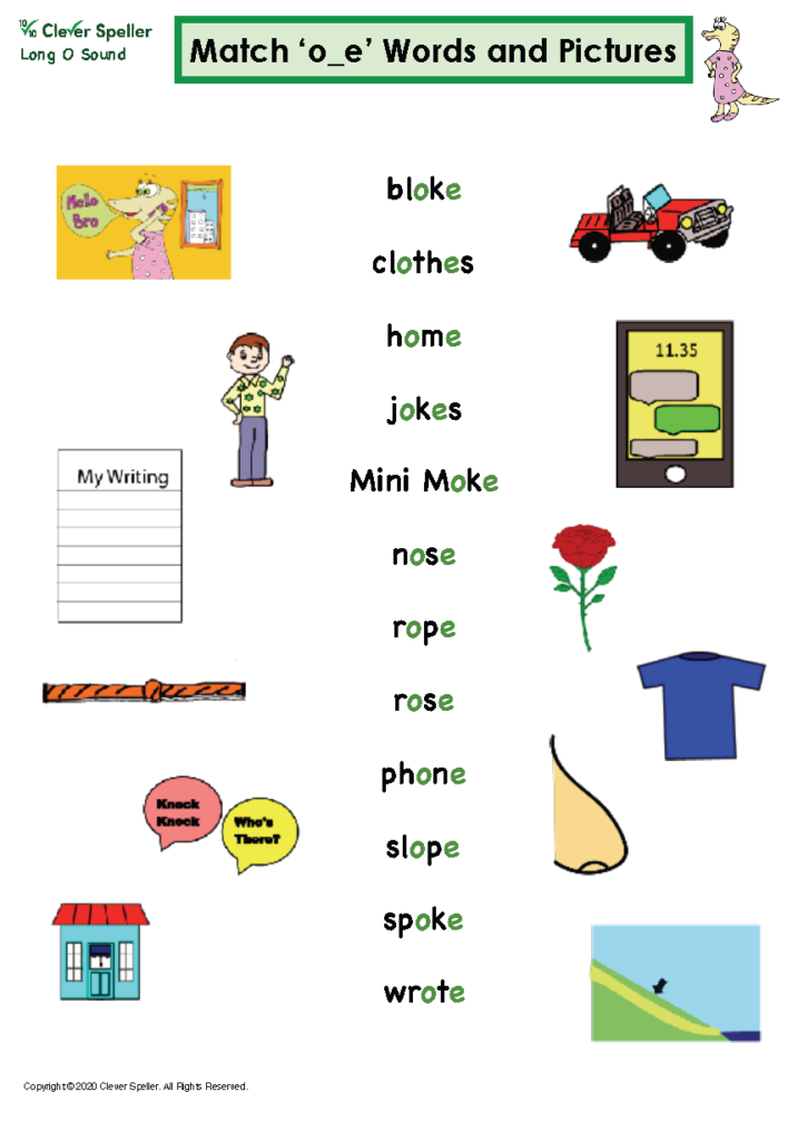 Long O Vowel Sound Matching Words and Pictures_Page_09