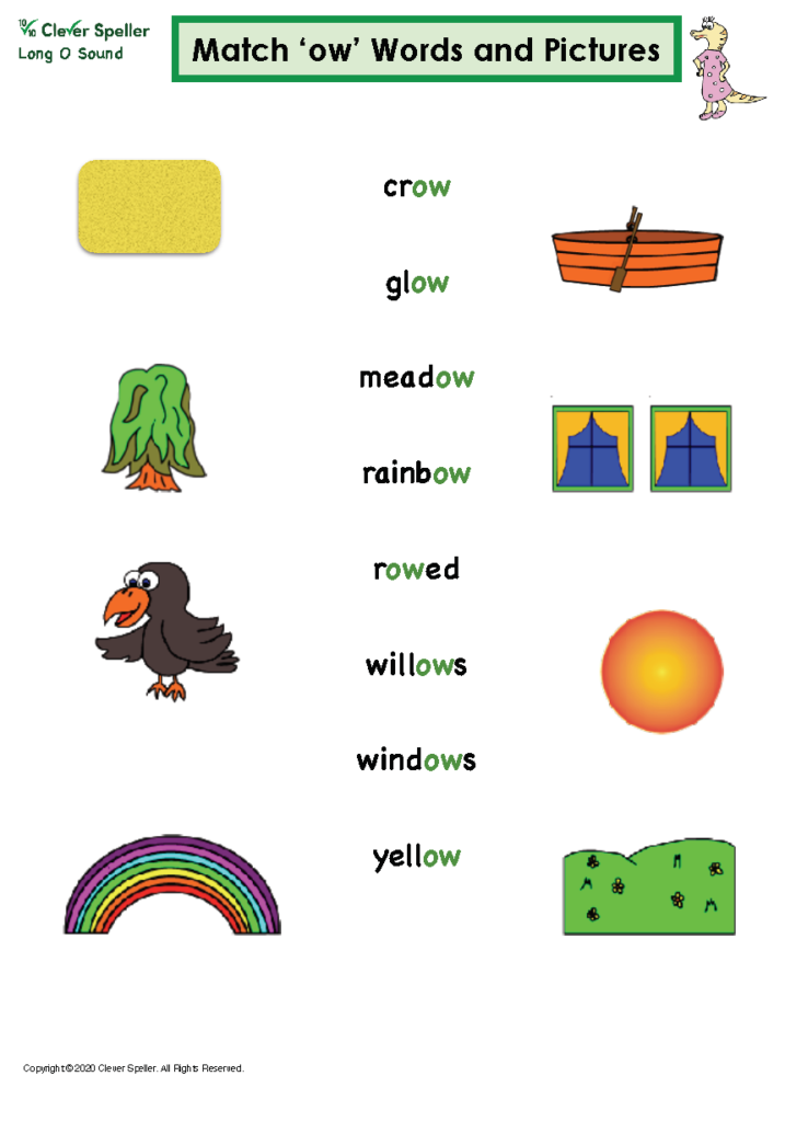 Long O Vowel Sound Matching Words and Pictures_Page_10