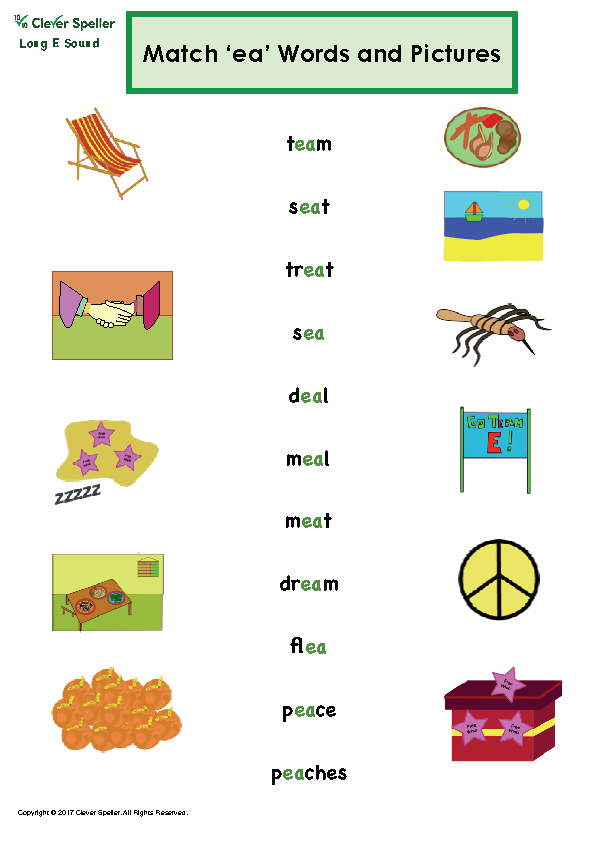 Long e Vowel Sound Matching Words and Pictures_Page_05