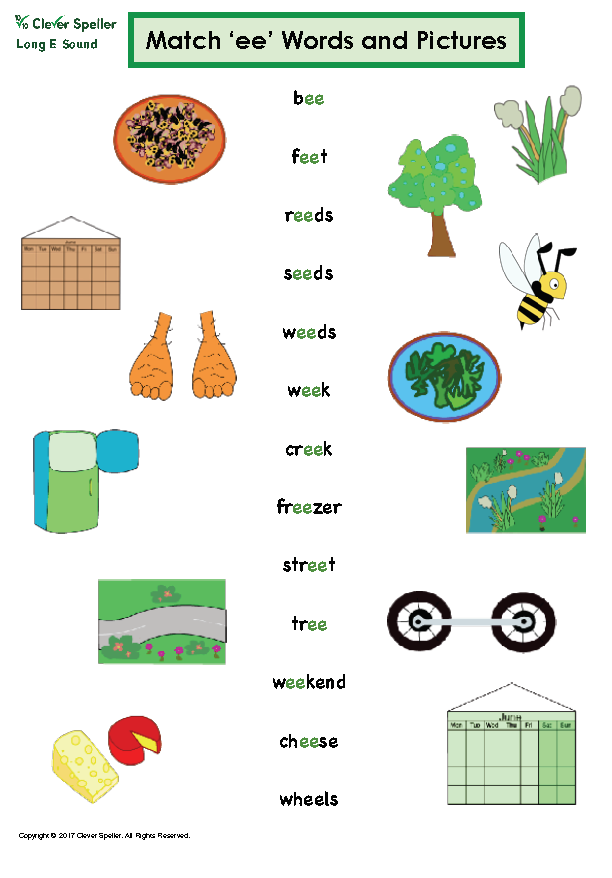 Long e Vowel Sound Matching Words and Pictures_Page_06