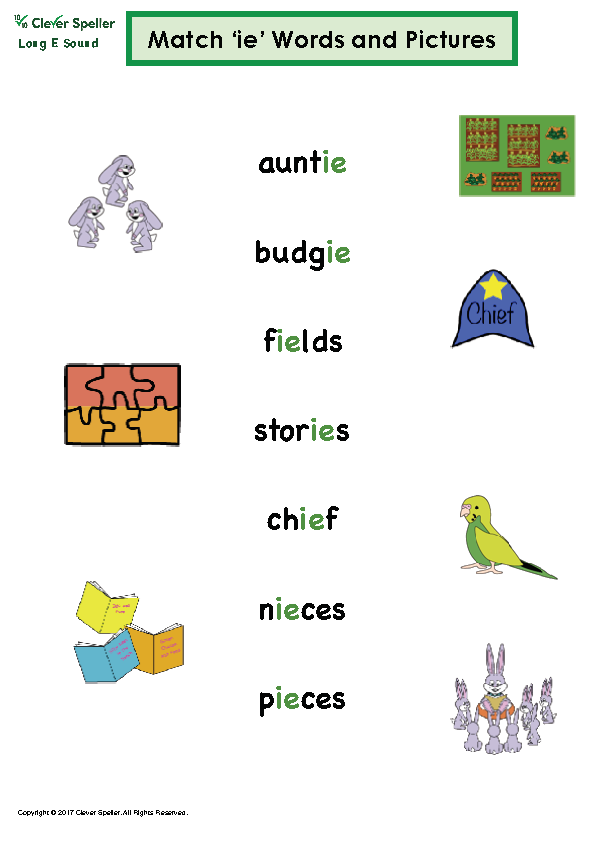 Long e Vowel Sound Matching Words and Pictures_Page_07