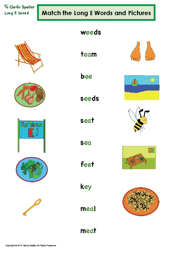 Long e Vowel Sound Matching Words and Pictures_Page_10