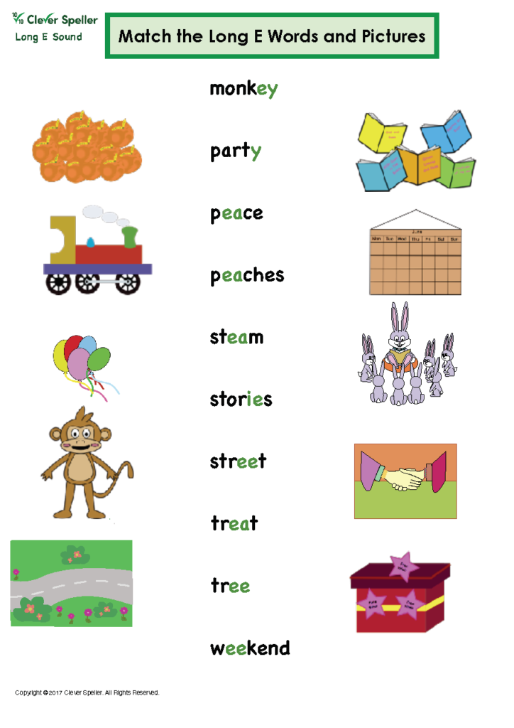 Long e Vowel Sound Matching Words and Pictures_Page_12
