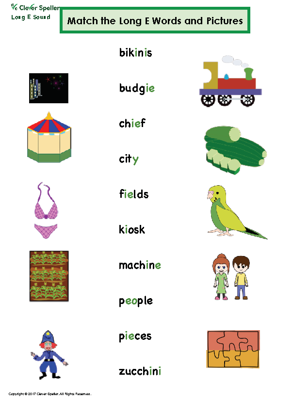Long e Vowel Sound Matching Words and Pictures_Page_13