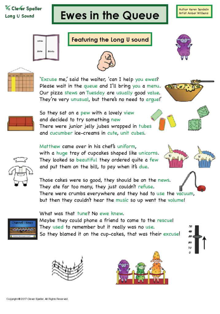 Long u Vowel Sound Matching Words and Pictures_Page_03