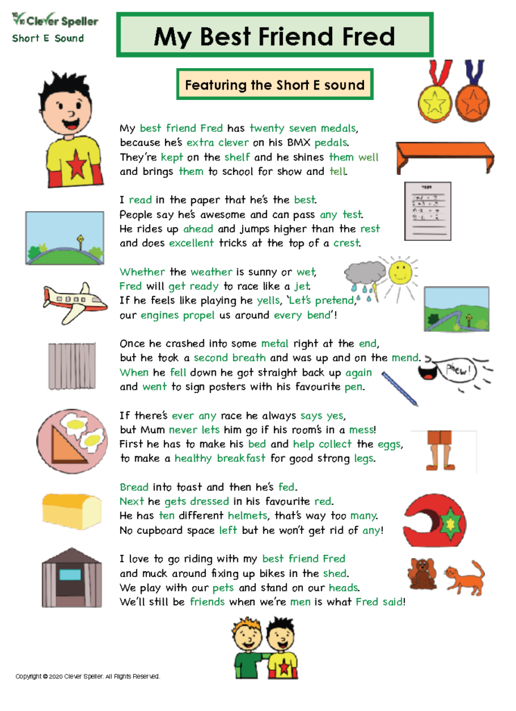 Short E Matching Words and Pictures Australian Spelling_Page_03