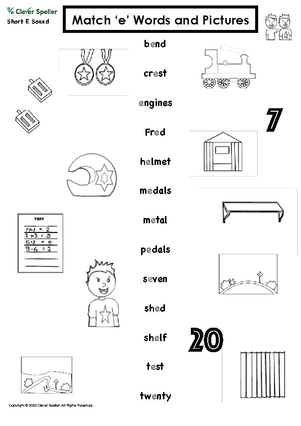 Short E Matching Words and Pictures Australian Spelling_Page_08