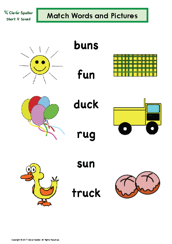 Short U Matching Words and Pictures Australian Spelling_Page_08