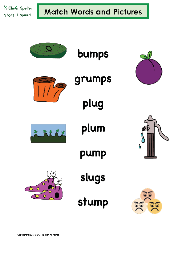 Short U Matching Words and Pictures Australian Spelling_Page_09