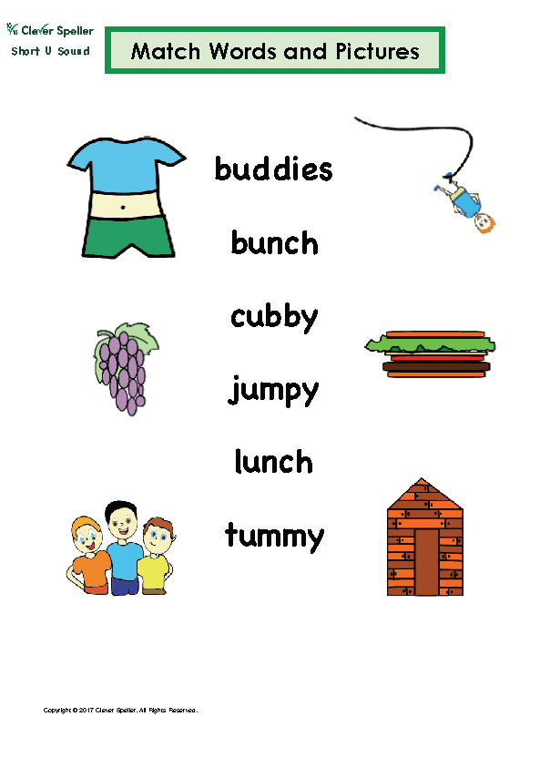 Short U Matching Words and Pictures Australian Spelling_Page_10