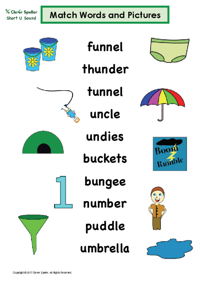 Short U Matching Words and Pictures Australian Spelling_Page_12