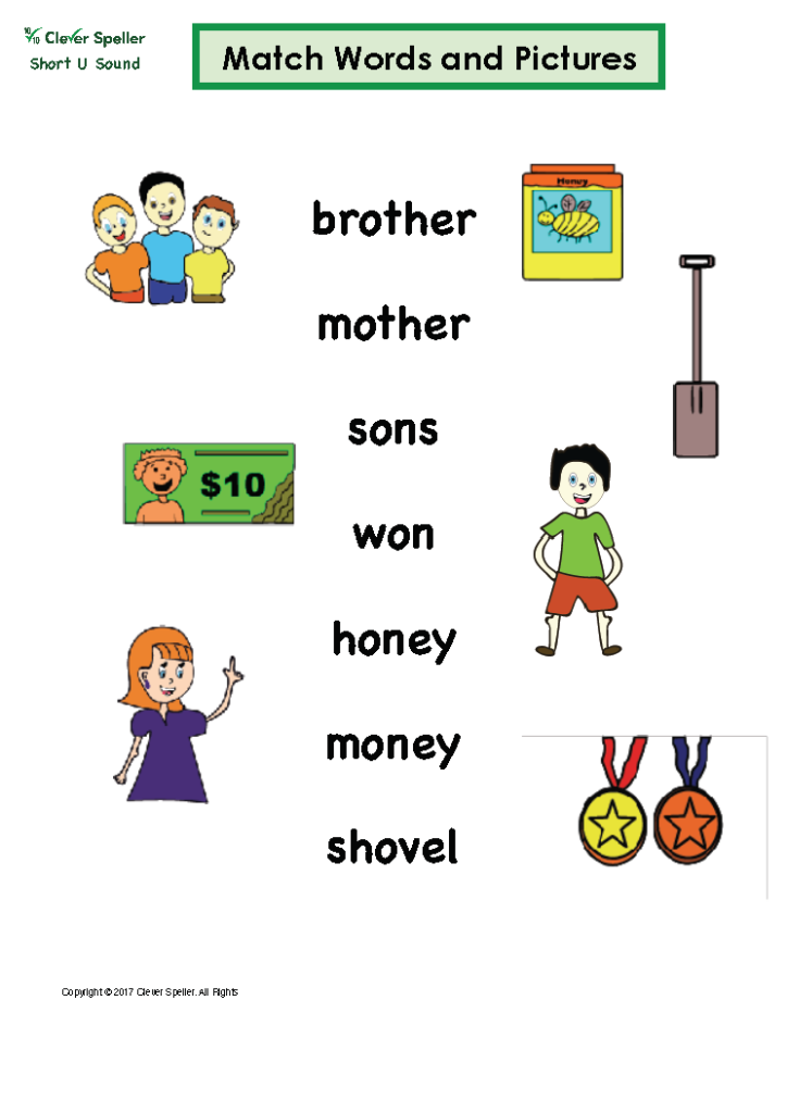 Short U Matching Words and Pictures Australian Spelling_Page_13