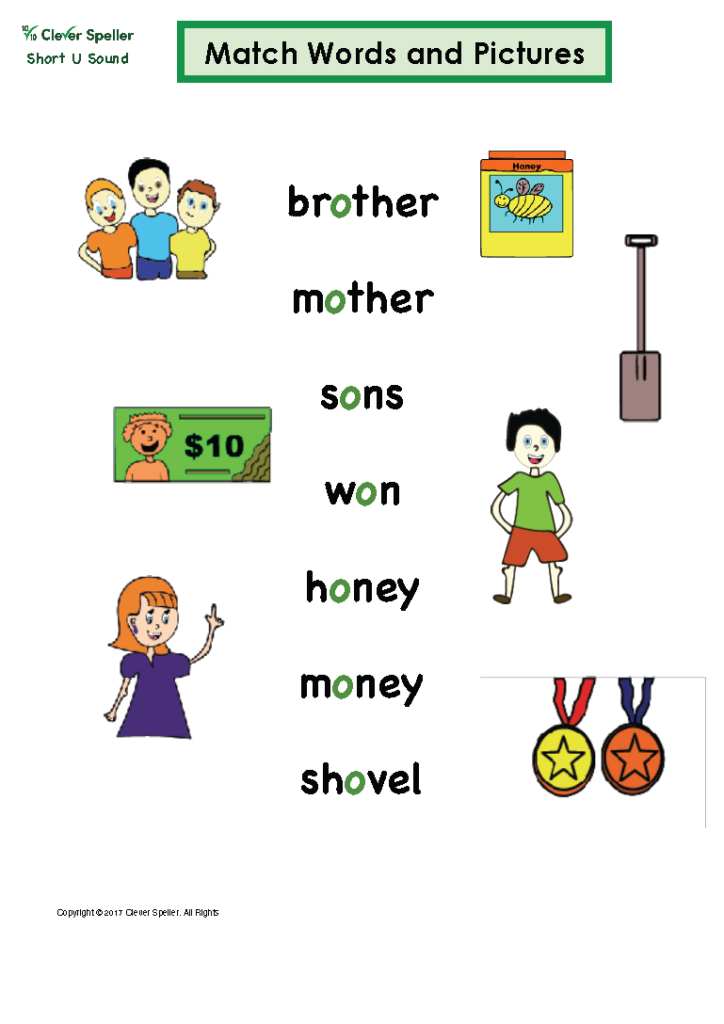 Short U Matching Words and Pictures_Page_11