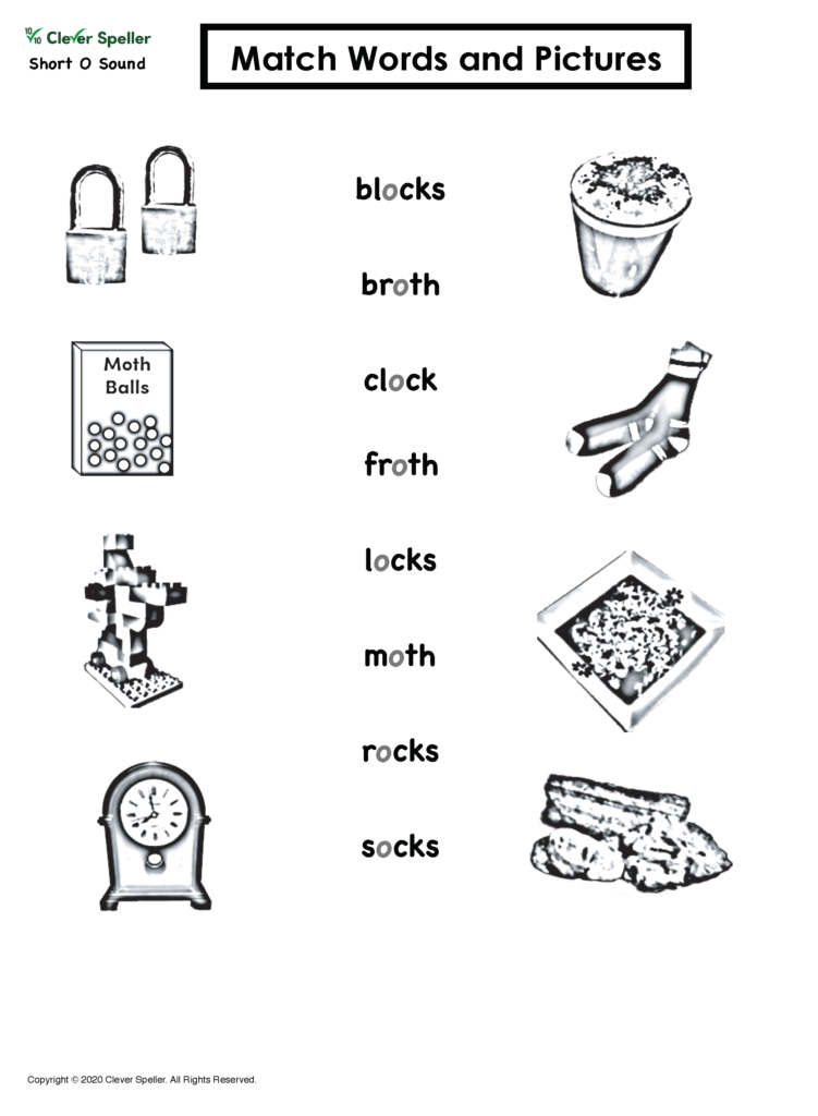 Short O Matching Words and Pictures_Page_14
