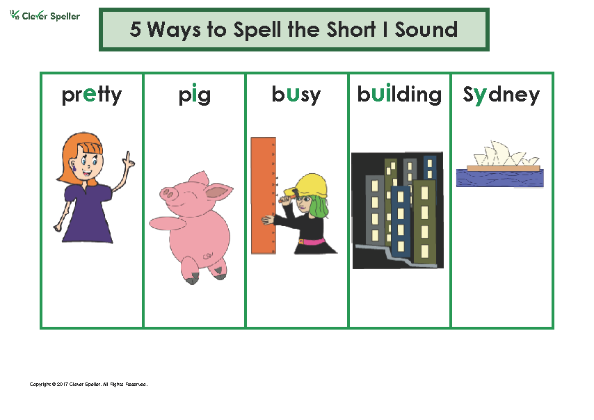 Ways to Spell Short Vowel Sounds Chart_Page_5