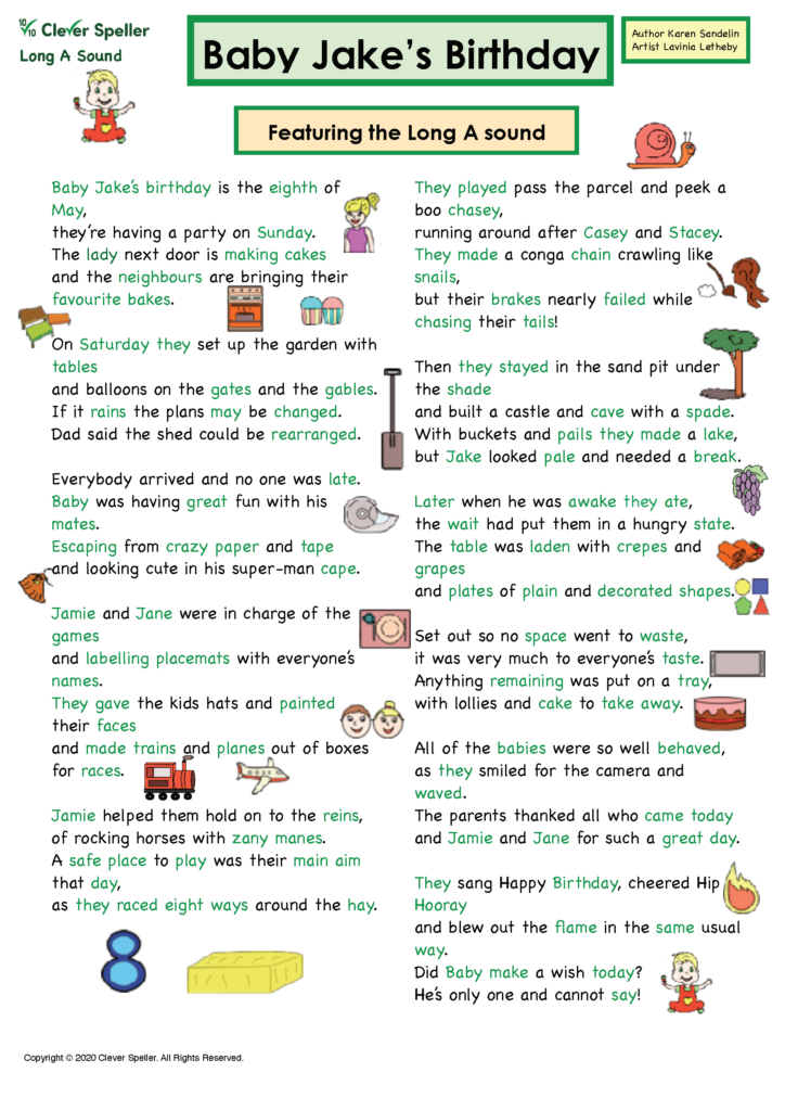 Long A Vowel Sound Matching Words and Pictures_Page_04