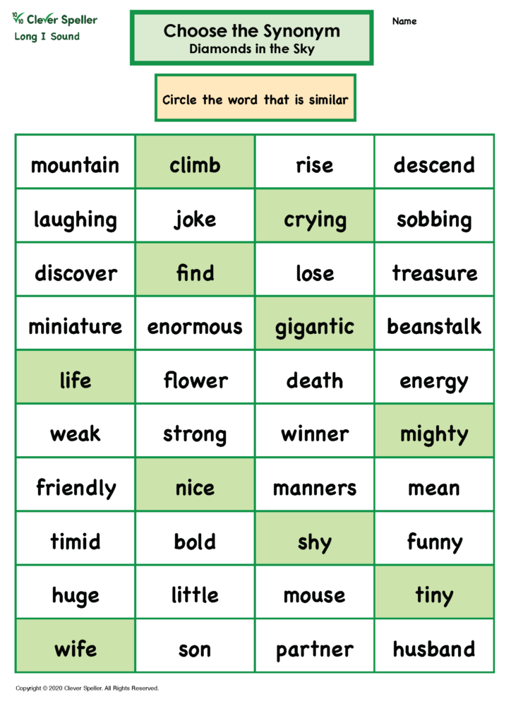 Long I Antonyms and Synonyms_Page_08