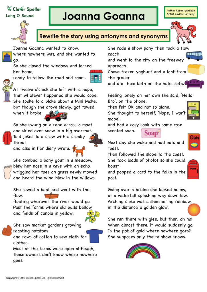 Long O Antonyms and Synonyms_Page_05