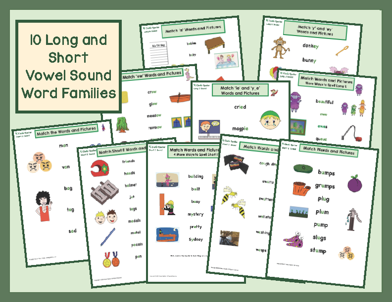 Matching Words and Pictures Preview_Page_2