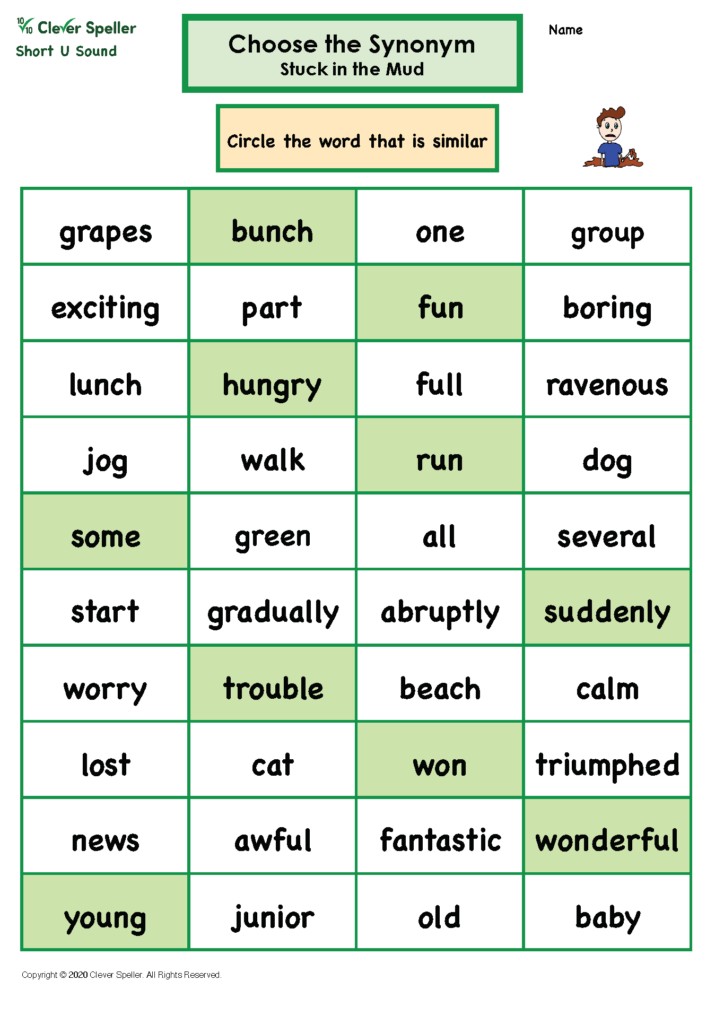 Short U Antonyms and Synonyms_Page_10