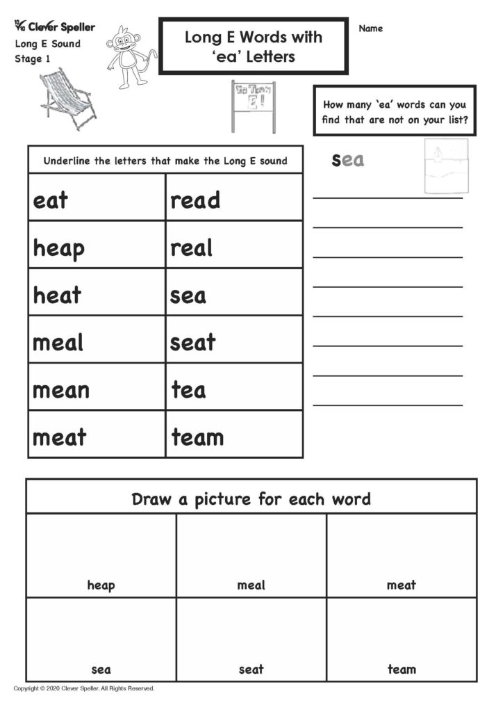 Long E Story Based Spelling Activities for Ages 4-10_Page_07
