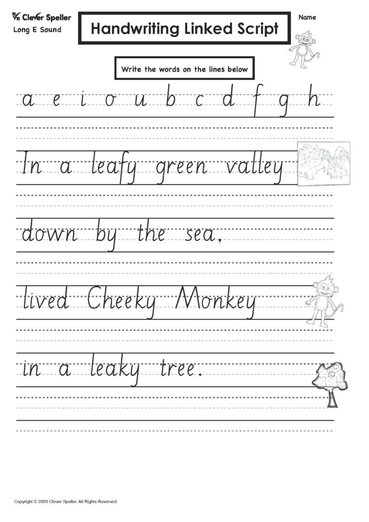 Long E Story Based Spelling Activities for Ages 4-10_Page_31