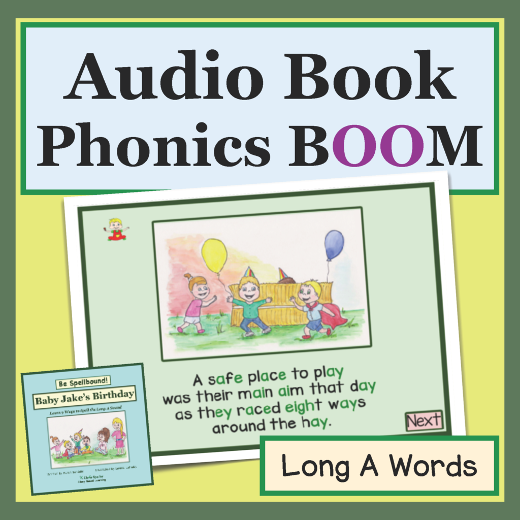 phonics picture book boom cards