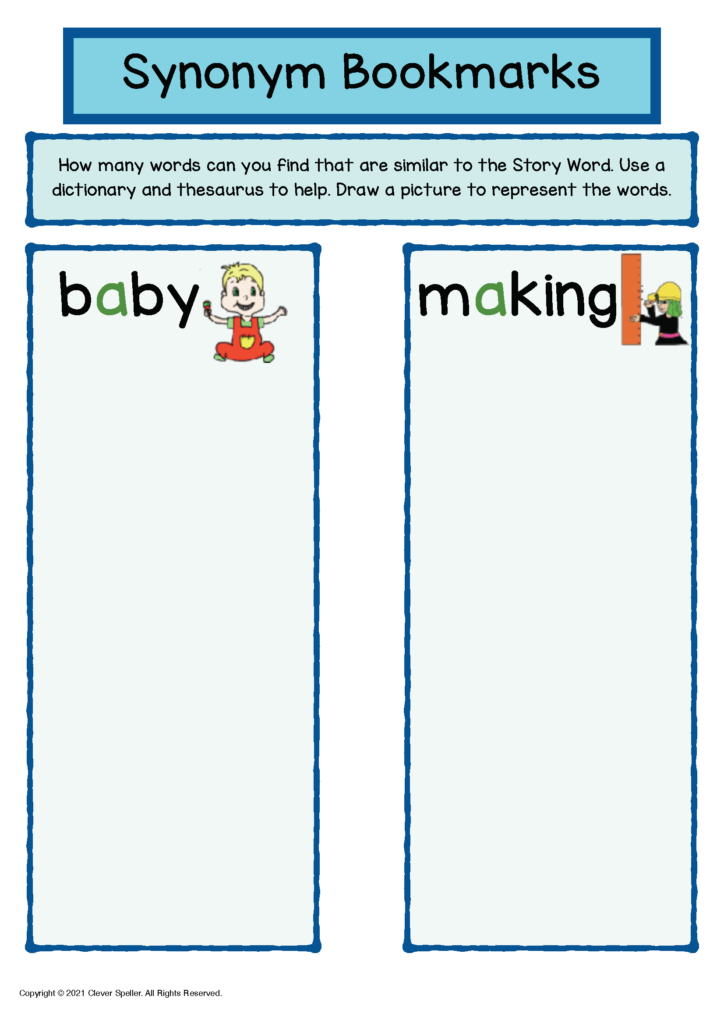 Long A Synonyms and Antonyms Freebie Sample_Page_4