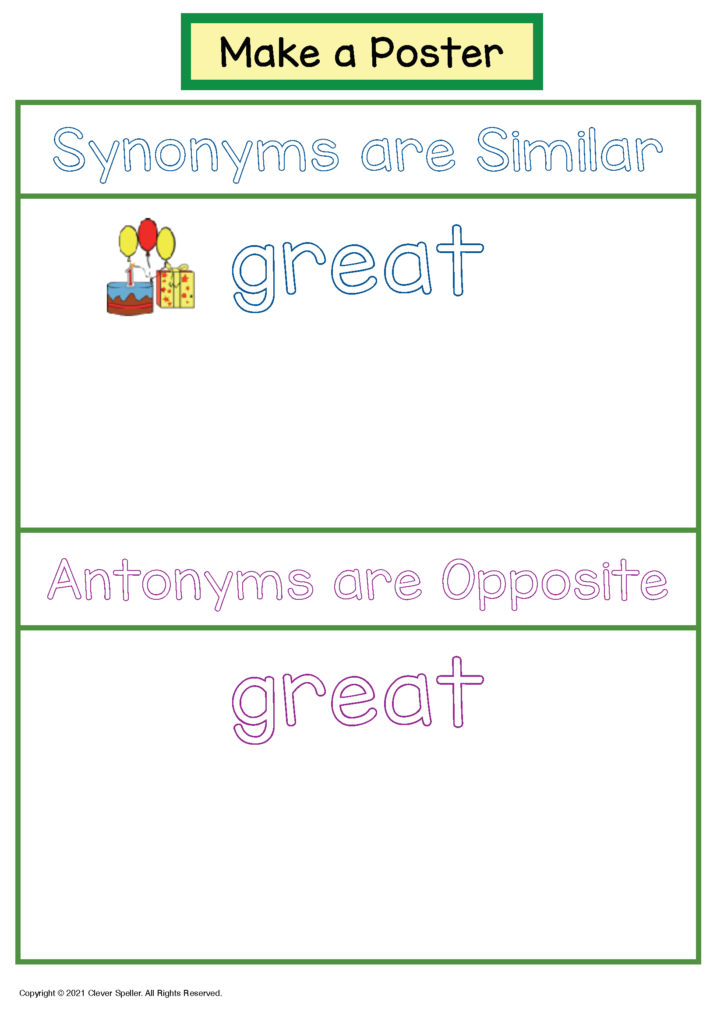 Long A Synonyms and Antonyms Freebie Sample_Page_5