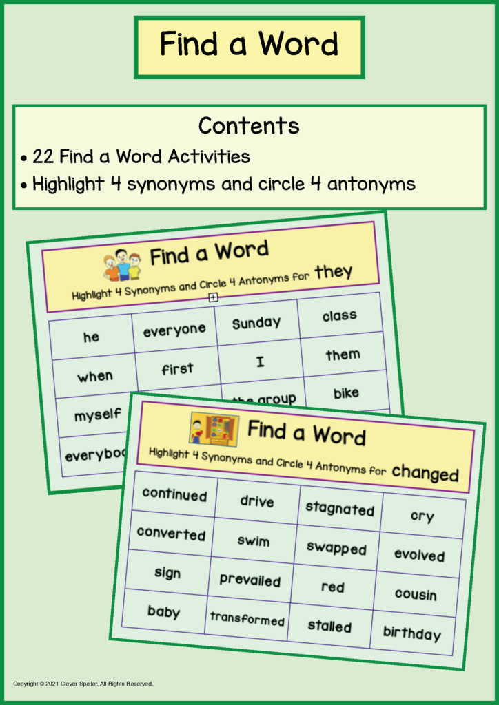 Long A Synonyms and Antonyms Task Cards_Page_14
