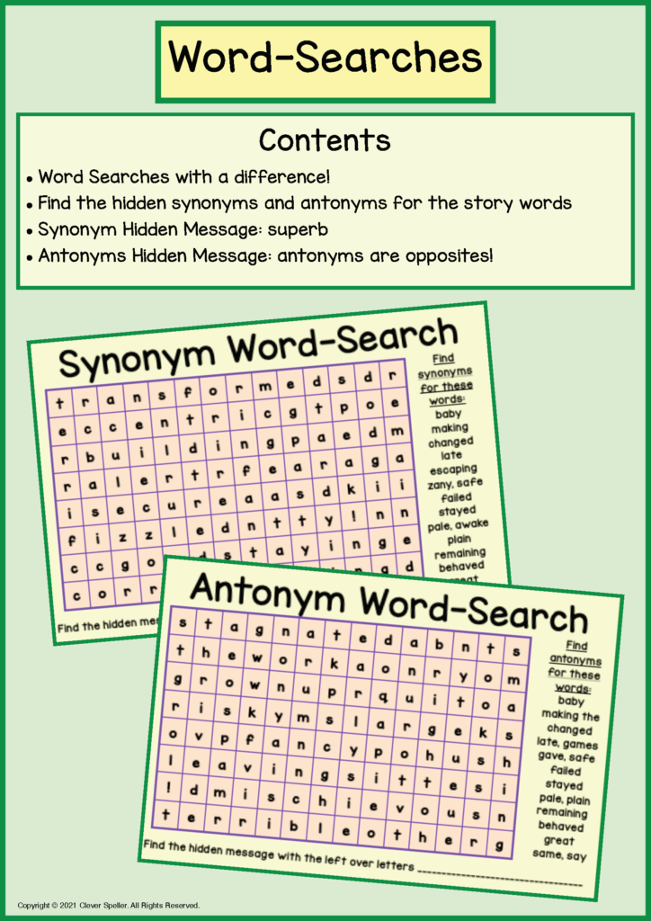 Long A Synonyms and Antonyms Task Cards_Page_45